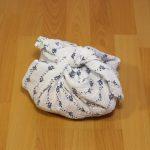 Furoshiki Wickeltasche Furoshiki Mullwindel Furoshiki Mulltuch nachhaltig leben mit Baby low waste baby zero waste baby