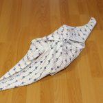 Furoshiki baby windel knoten